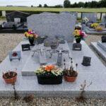 Granit gris 1m30x2m Somme